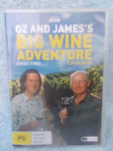 OZ & JAMES'S BIG WINE ADVENTURE SERIES TWO-CASLIFORNIA(2 DISC BOXSET) PG R4