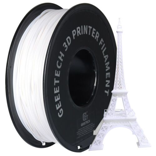 Geeetech 1.75mm PLA Filament 1 KG from AU White Color