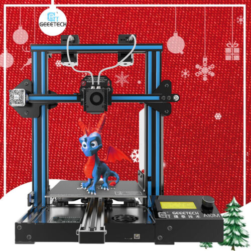 Geeetech 3D PrInter A10M 2 in 1 out Extruder Mixing Color  Auto-level Large