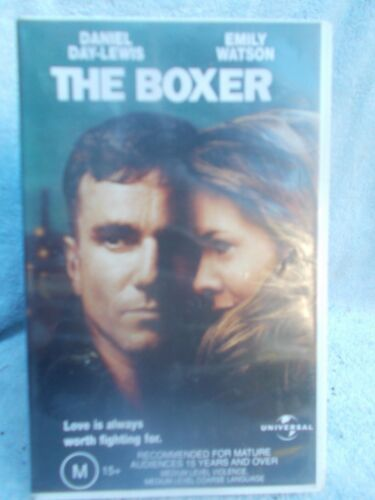 THE BOXER DANIEL DAY-LEWIS( UNIVERSAL N0 VUN106459 ) VHS TAPE M(LIKE NEW)