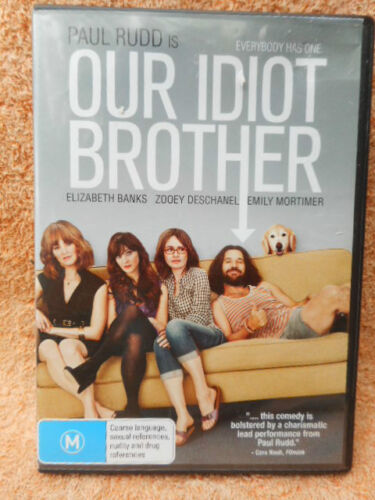 OUR IDIOT BROTHER PAUL RUDD ELIZABETH BANKS DVD M