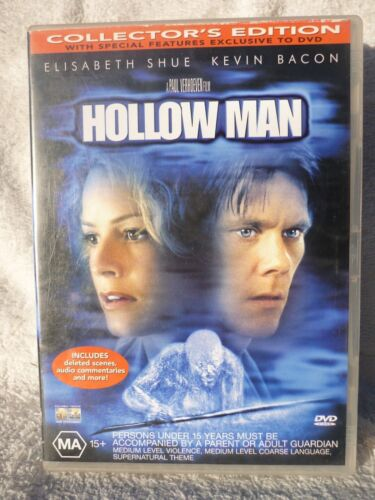 HOLLOW MAN-COLLECTORS EDITION KEVIN BACON DVD MA R4