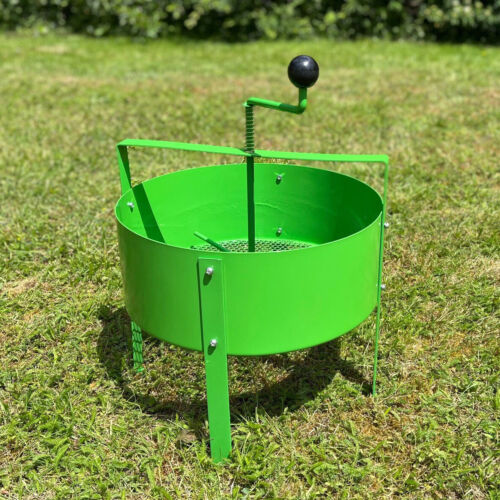 Rotary Soil Sifter Compost Sieve Large Earth Riddle Screener