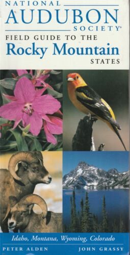 ROCKY MOUNTAIN STATES - Field Guide National Audubon 447 Pages **GOOD COPY**
