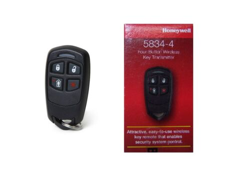 💥 Ademco Honeywell 5834-4-Button Wireless Remote Keyfob Fob 5804 New NIB 💥