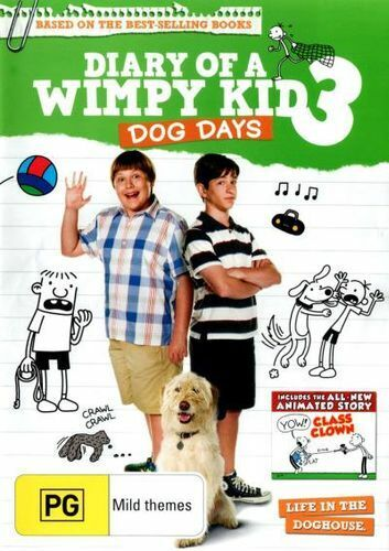 NEW Diary of a Wimpy Kid 3 : Dog Days DVD Free Shipping