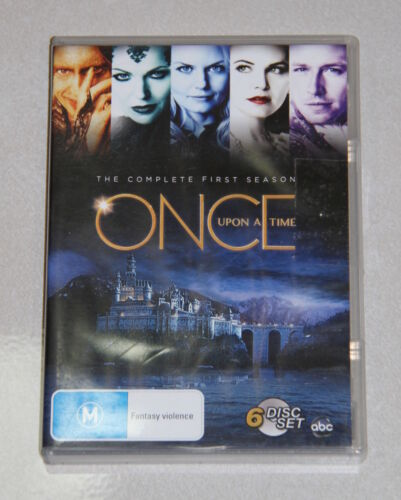 6 x Disc DVD set - Once upon a time - The complete first season