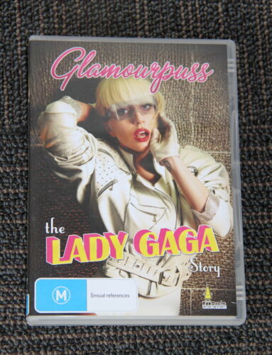 DVD - GLAMOURPUSS - The Lady Gaga Story includes extra extended interviews