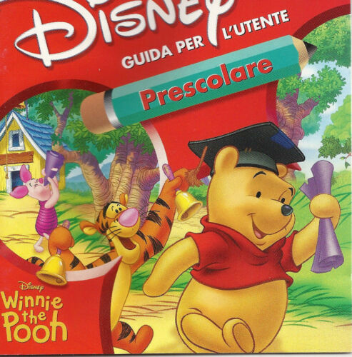 DISNEY WINNIE THE POOH Guida per L'untente Prescolare Italian CD ROM Win PC &Mac