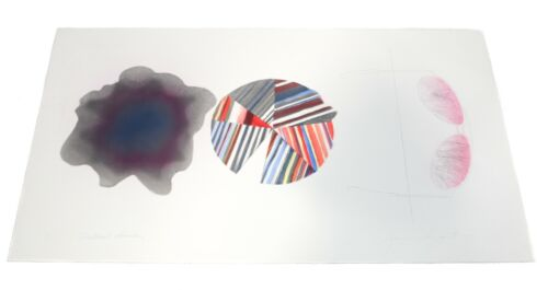 James Rosenquist Colored Etching, Federal Spending, 1st State, 1978