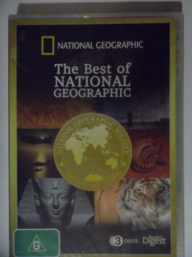 BEST OF NATIONAL GEOGRAPHIC (DVD , 2013 ) SEALED