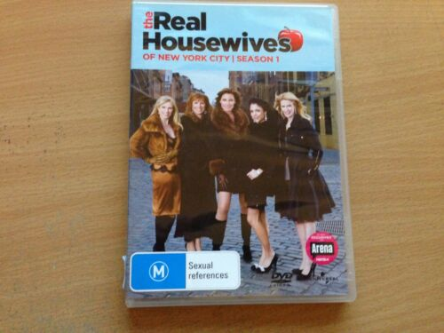 The Real Housewives Of New York City Season 1 Complete First Series (DVD) R4 GC