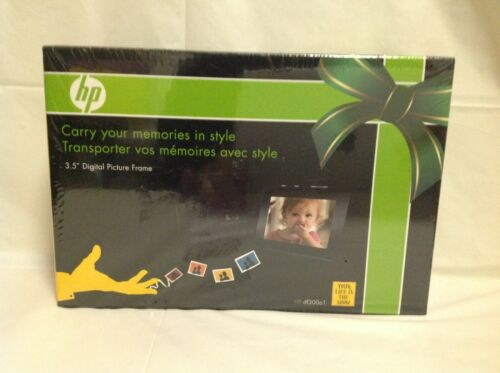 """HP 3.5"""" Digital Picture Frame w/ Case - Portable - Model df300a1 - Brand New"""