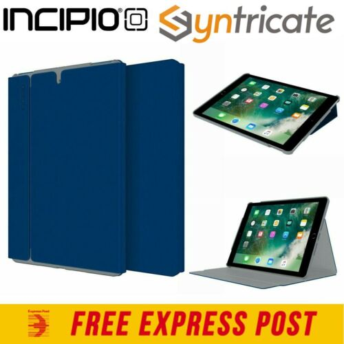 INCIPIO FARADAY FOLIO CASE WITH MAGNETIC FOLD FOR IPAD AIR 10.5 INCH - NAVY