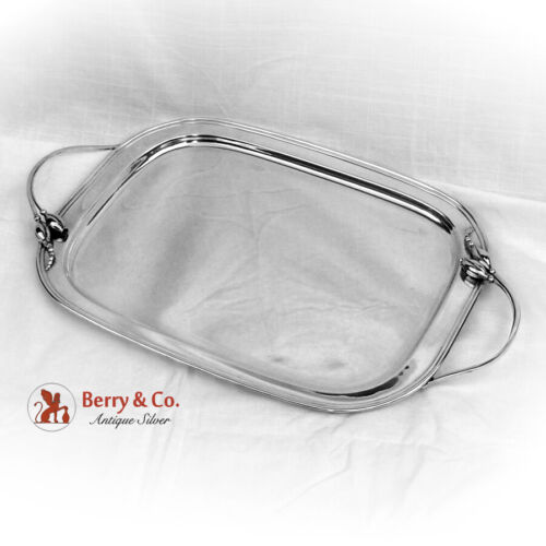 Vintage Blossom Tray Durham Silver Co Sterling Silver 1950 NYC