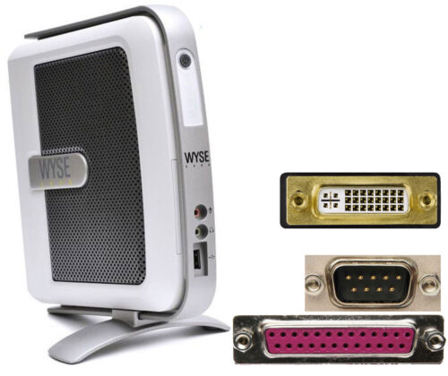Small PC Thinclient Wyse V90L Windows Xpe DVI With RS-232 12V Supply TC3 MM