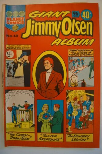 Classic Planet Comic Book - Giant Jimmy Olsen Album - Great Titles