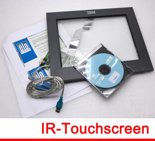 """12 """" 30,8cm IBM Carroll Touch Infrared Ir Screen without Pressure #M75"""