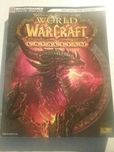 World of Warcraft cataclysm    Strategy Game  Book