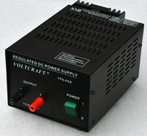 13,8 Volt 4A/6A Stable Supply Powersupply for Charging from Battery Packs Ups