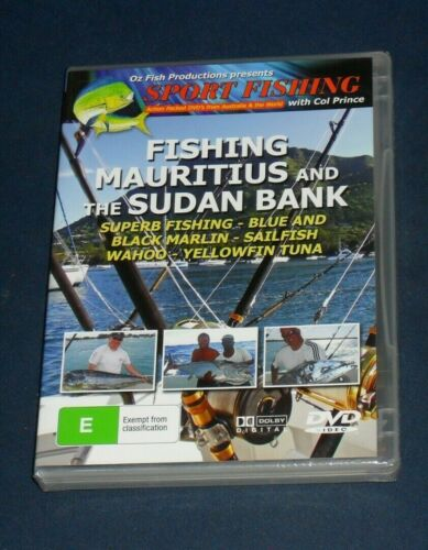 New Sealed DVD - Fishing Mauritius and The Sudan Bank [A11]