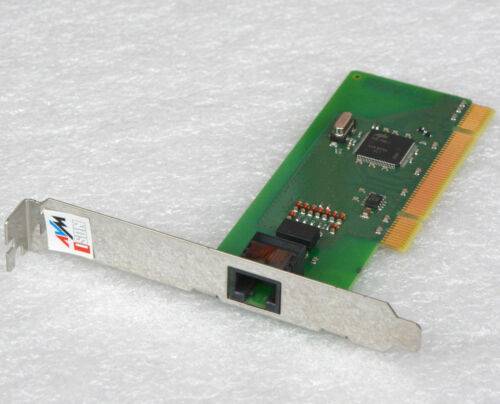 AVM Fritz! PCI 2.1 Fax Modem Isdn Surfmodem Fax Send Receiving for Win XP 7 10
