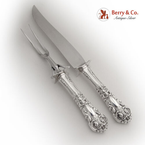 French Renaissance Carving Set Reed and Barton Sterling