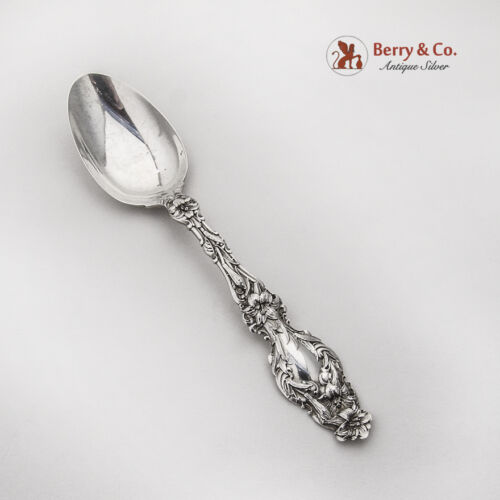 Lily Teaspoon Whiting Sterling Silver Pat 1902 No Mono