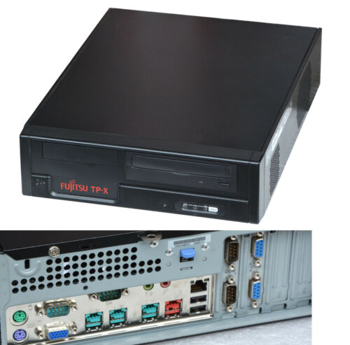 Pc with Windows 98 2 x Rs 232 Powered USB 80gb Ide HDD 512 MB Dvd-Rom FS_ 4 Mm