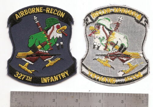 #183  US ARMY 327TH AIRBORNE INFANTRY RECON PATCHPatches - 36078