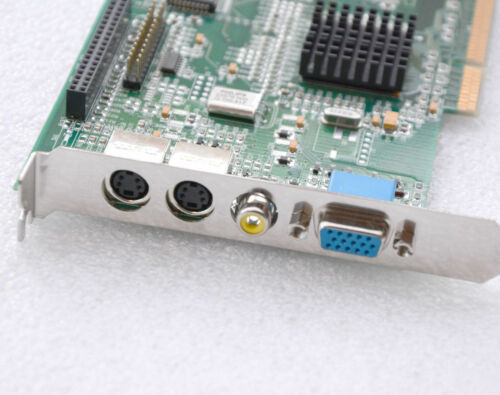 Graphiccard ELSA Winner 2000 Office A8 Vivo 3DLabs AGP VGA S-video IN Out G26