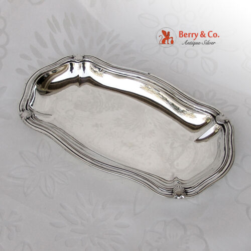 Dresser Tray Shell Thread Henin and Cie French 950 Sterling 1900 No Monograms