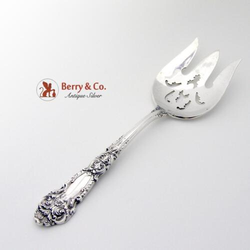 French Renaissance Salad Serving Fork Sterling Silver Reed And Barton 1941