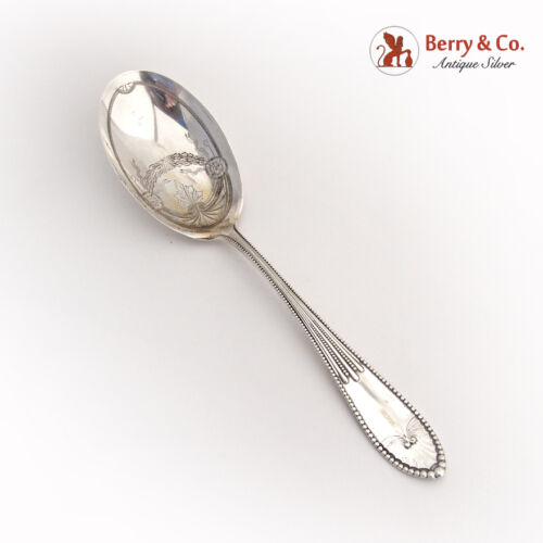 Chippendale Berry Spoon 1890 Gorham Sterling Silver