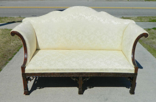 Gorgeous Chinese Chippendale Double Peaked Sofa Settee~~~~19th century