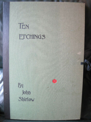 Ten Etchings by John Shirlow,100 copies only(57x38cm)Scotch College,Lytlewode,05