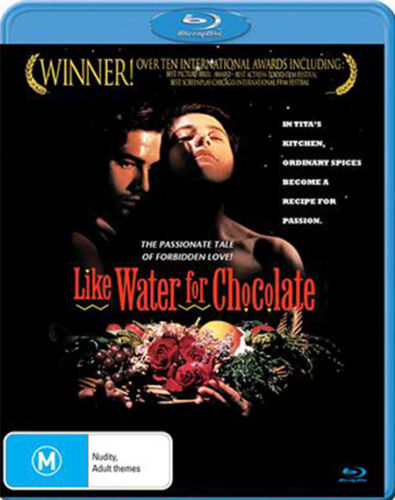 LIKE WATER FOR CHOCOLATE BLU RAY NEW AND SEALED
