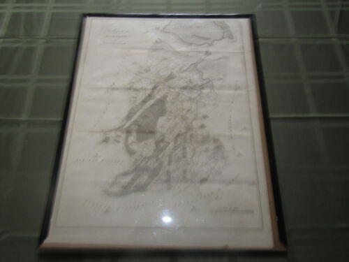 Antique Map Of England 1797