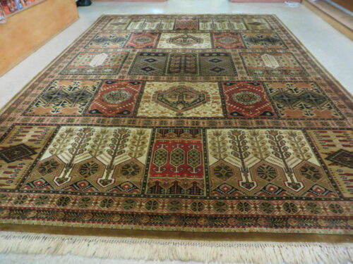 10' x 14' Vintage Power Loomed Couristan European Wool Rug Belgium Made Carpet