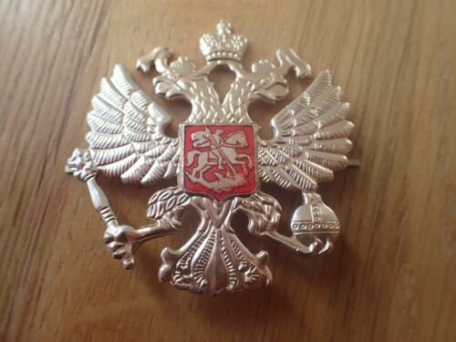 Russian Military Army Imperial Two Headed Eagle Crest Hat Pin Badge KOKARDAOther Eras, Wars - 135