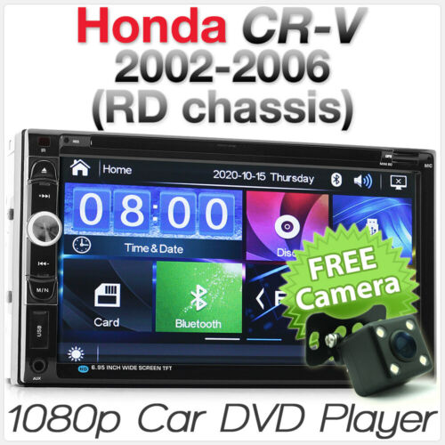 "7"" Car DVD Player MP3 For Honda CRV CR-V RD 2002-2006 Stereo Radio USB Head Unit"