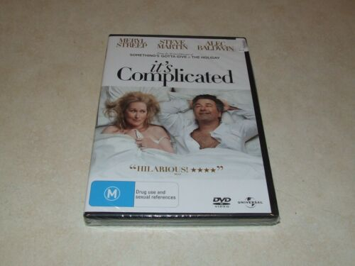 It's Complicated (DVD, 2010) Region 2-4 Pal - New