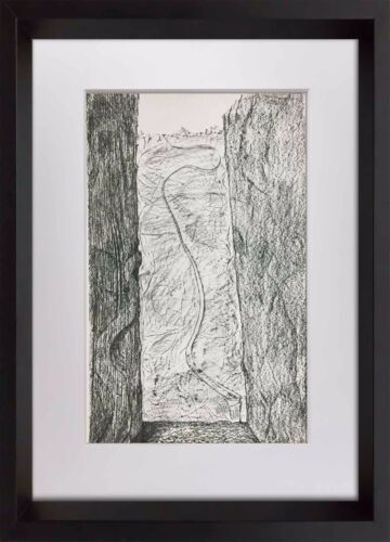 """Max ERNST Lithograph Limited Ed. no. 184 """"Les Cicatrices"""" Cat. Ref. r20"""