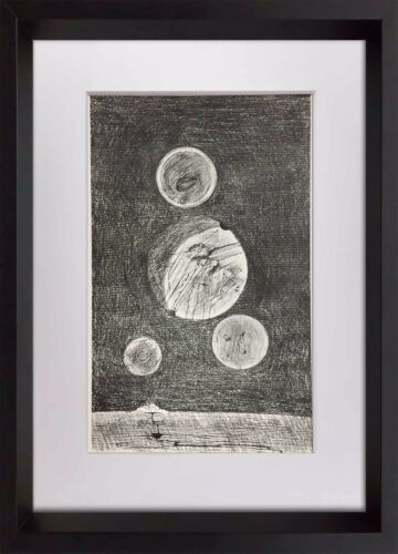 """Max ERNST Lithograph Limited Ed. 184/250 Cat. Ref. r20 """"Petite Tables ... terre"""""""