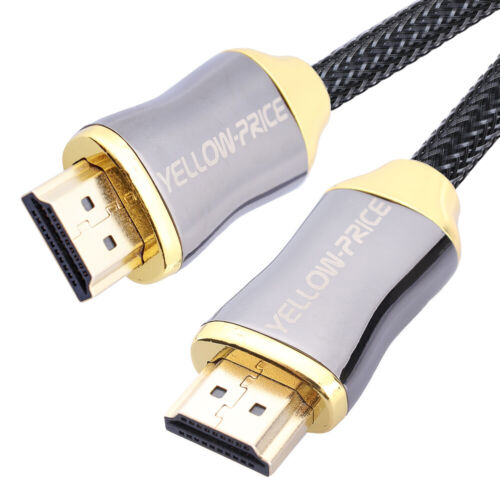 4K/3D HDMI Cable, High Speed 18Gbps Professional HMDI Cable 3/15M 2160p 60Hz lot