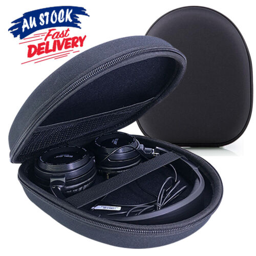 Hard Carrying Sony Box Headset Headphone Storage Bag Earphone Case For Black