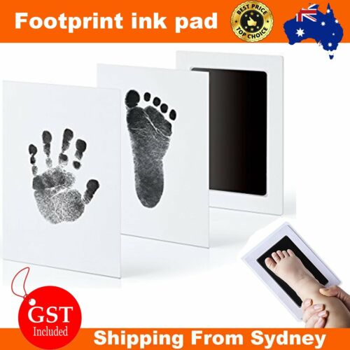 Baby Paw Print Pad Foot Photo Frame Touch Ink Pad Baby Keepsakes Souvenir Gift A