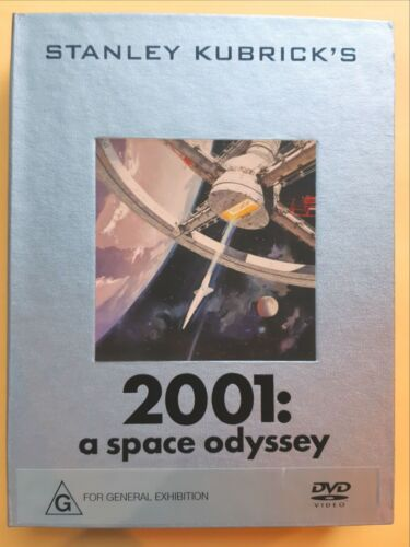 2001 - A Space Odyssey Deluxe Limited Edition 2 DVD Box Set, Like New, Region 4