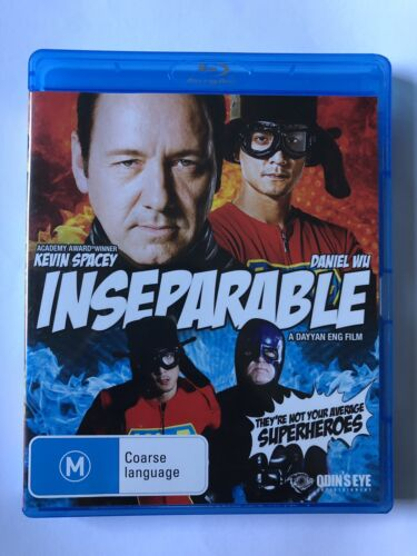 Inseparable (Blu-Ray, 2013) Like NEW Movie 🍿 Kevin Spacey Daniel Wu Region B