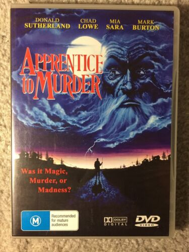 Apprentice To Murder - Donald Sutherland - Like New All Regions DVD